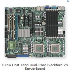 Supermicro MBD-X7DVA-8 771Pin SATA Anakart intel Onboard Raid 5 destekli